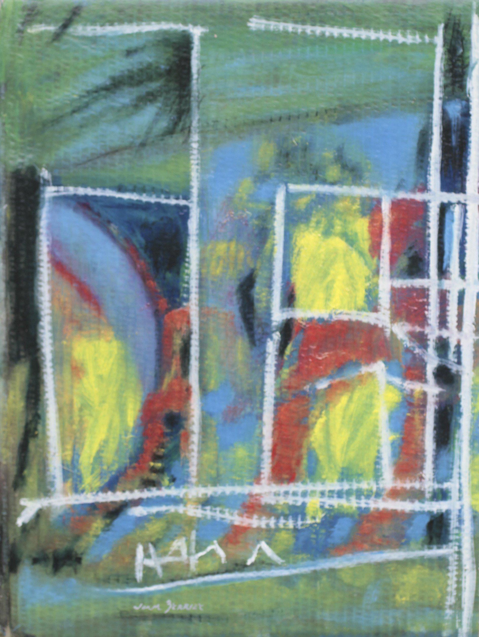Castelo de Kafka. Mixta/Cartón 56x42